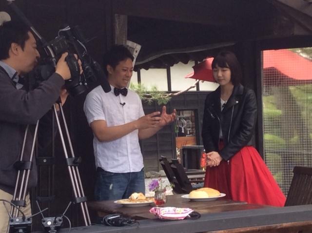 J:COMさん蔵日和取材時の風景